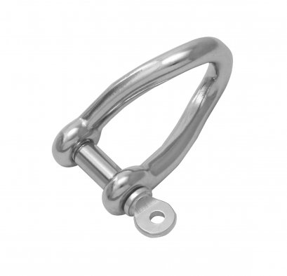 Twist shackle (collared pin)