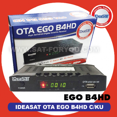 Receiver IDEASAT OTA EGO B4HD C/KU