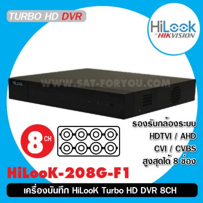 เครื่องบันทึก HiLooK Turbo HD DVR 8CH