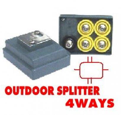 Outdoor Splitter CABLE 4Way