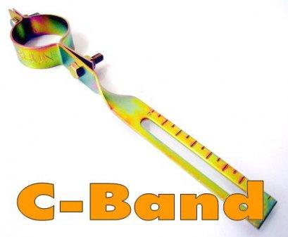 ก้านจับLNB แบบทองเหลือง (C-Band)