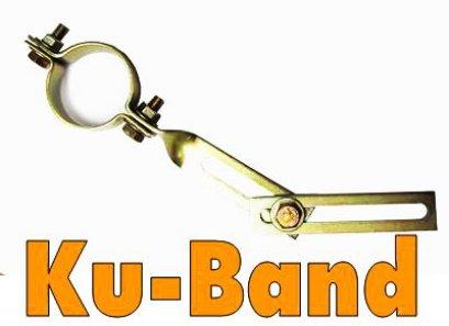 ก้านจับLNB แบบทองเหลือง (Ku-Band)