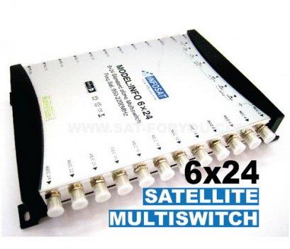 Multi Switch 6x24 INFOSAT (เข้า6ออก24)