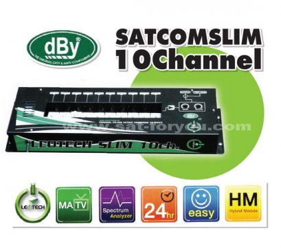 Active Combiner dBy SLIM 10ch
