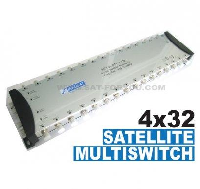 Multi Switch 4x32 INFOSAT (เข้า4ออก32)