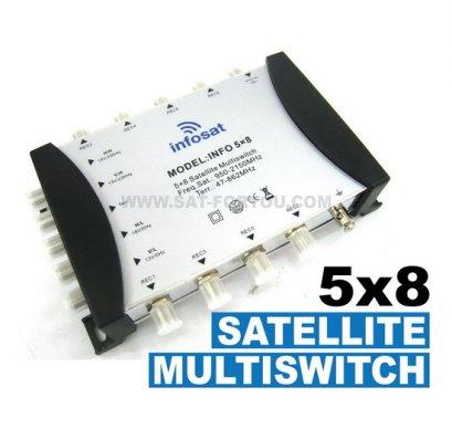 Multi Switch 5x8 INFOSAT (เข้า5ออก8)