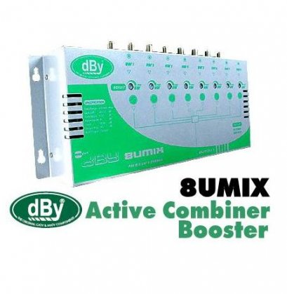 Active Combiner Booster dBy 8UMIX