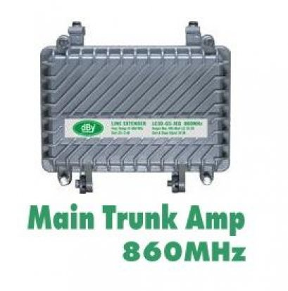 Main Trunk Amp 860MHz dBy