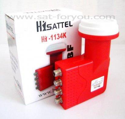 LNBF-KU Band HISATTEL 11300 4output