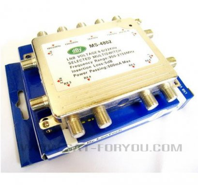 Multi Switch 4x8 dBy (เข้า4ออก8)