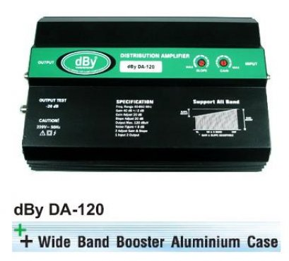 Wide Band Booster dBy รุ่น DA-120