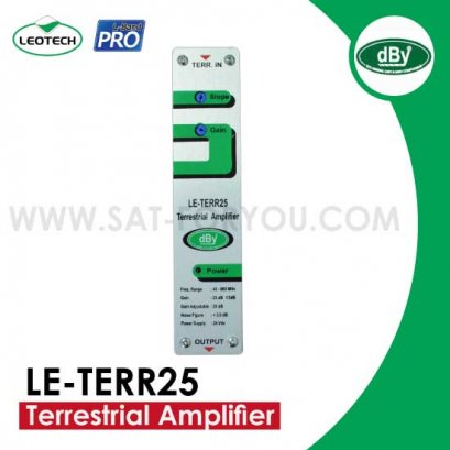Terrestrial Amplifier dBy รุ่น LE-TERR25