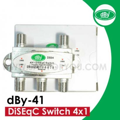 DiSEqC Switch 4x1 dBy