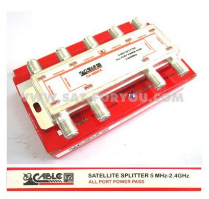 Satellite Splitter CABLE All Pass 8 way