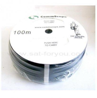 สายRG6 CommScope 60% 100ม. สีดำ