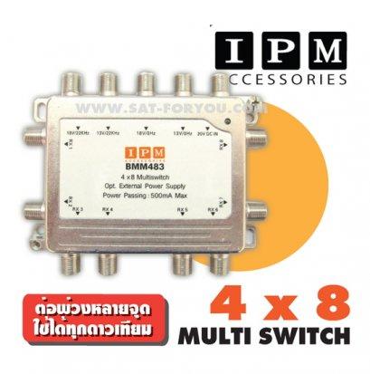 Multi Switch 4x8 IPM +Adaptor