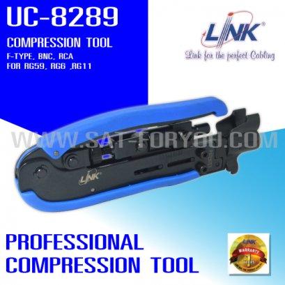 คีมบีบอัดหัวF LINK แบบอย่างดี รุ่น UC-8289