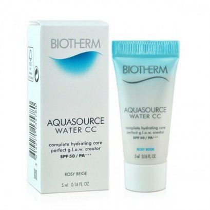BIOTHERM AQUASOURCE Water CC SPF50 PA+++ #Rosy Beige