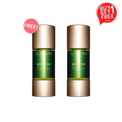 Clarins Booster Detox Refreshes Complexion Green Coffee