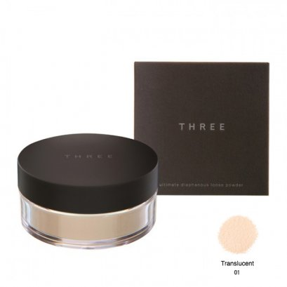 THREE  Ultimate Diaphanous Loose Powder (TRANSLUCENT) เบอร์ 01