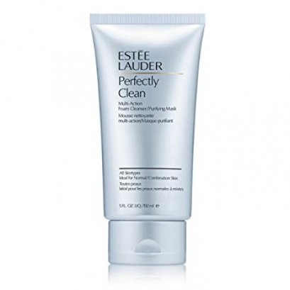 ESTEE LAUDER Perfectly Clean Multi-Action Foam Cleanser/purify Mask