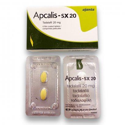 ยา Apcalis - sx 20 tadalafil 20 mg