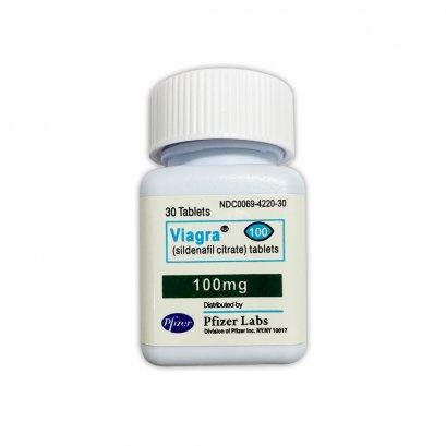 ยา Pfizer  Viagra  100 mg. ยาไฟเซอร์ ไวอากร้า 100 มิลลิกรัม  1 กระปุก บรรจุ 30 เม็ด