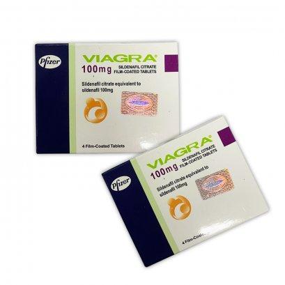 ยา Pfizer  Viagra  100 mg. ยาไฟเซอร์ ไวอากร้า 100 มิลลิกรัม