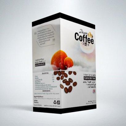 กาแฟปรุงสำเร็จรูป 3 IN 1 ผสมเห็ดหลินจือ (กล่องใหญ่ 20 ซอง)