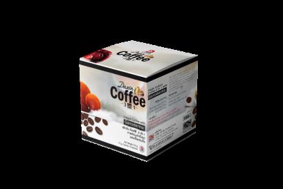 กาแฟปรุงสำเร็จรูป 3 IN 1 ผสมเห็ดหลินจือ (กล่องเล็ก 10 ซอง)