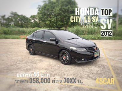 HONDA CITY mnc 1.5 SV AS  A/T 2012
