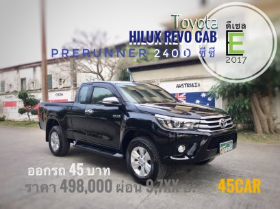 Toyota Hilux Revo cab 2.4 E Plus Prerunner '2017 M/T