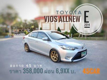 Toyota Vios Allnew 1.5 E '2014 A/T
