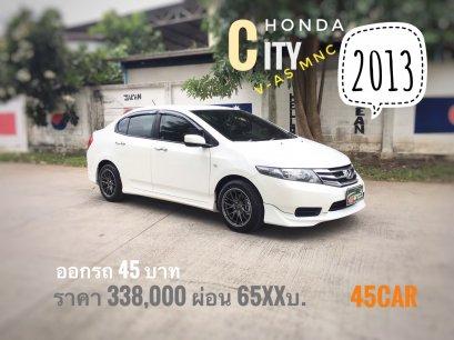 Honda city mnc 1.5 V A/T ปี2013