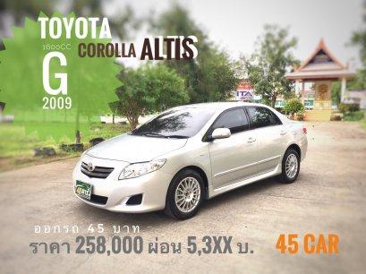 Toyota Altis 1.6 G '2009 A/T