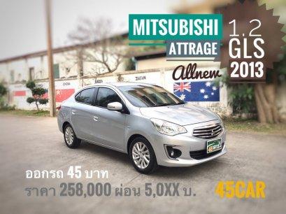 Mitsubishi Attrage 1.2 GLS 2013 A/T