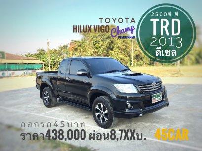 Toyota Hilux Vigo Champ cab 2.5 E VNT TRD Prerunner '2013 M/T