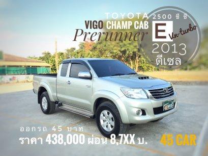Toyota Hilux VigoChamp cab 2.5 E Prerunner VNT Navi  '2013