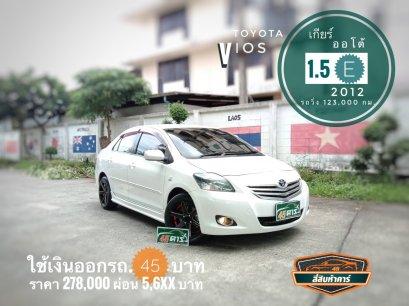 Toyota Vios mnc 1.5 Es '2012 A/T