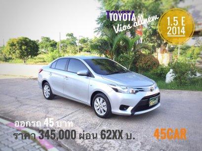 Toyota Vios Allnew 1.5 E A/T ปี2014