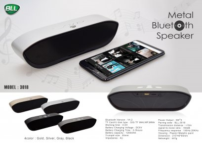 Metal-Bluetooth Speaker BLL3018