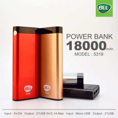 ฺBll Power Bank 18000mAh BLL5319