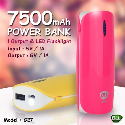 Power Bank 7500mAh BLL G27