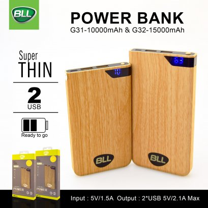 Power Bank 10000mAh BLL G31