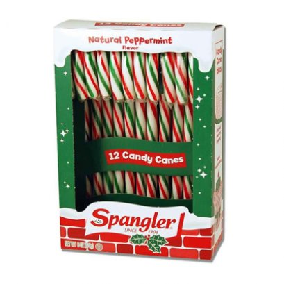 Red Greed White Peppermint Candy Canes