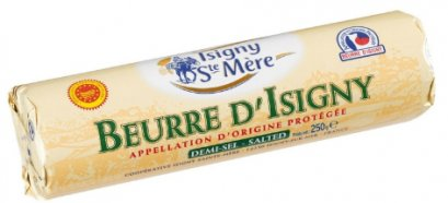 BUTTER AOP SALTED 250 g-ROLL: ISIGNY