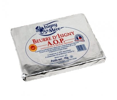 Dry Butter AOP: Isigny 1 kg
