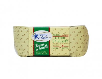 BUTTER AOP SALTED 250 g : ISIGNY