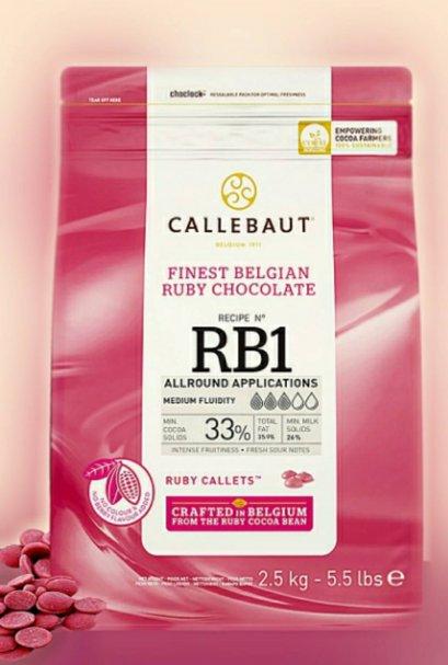 Ruby Couverture : Callebaut 2.5 kg