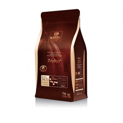 White Chocolate (Zephyr) 34% Cacao Barry 5 kg